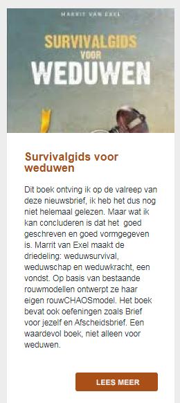 review Survivalgids voor weduwen
